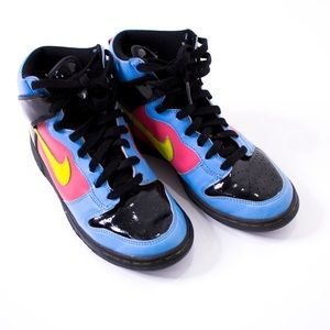 Nike Shoes - Nike | youth dunk high patent leather sneakers 5.5